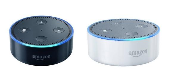 Echo Dot Amazon Alexa Preto Ou Branco Nao E Google Home