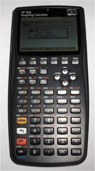 Calculadora Hp 50 G. Como Nueva. Empaque Original (100&)