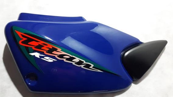 Tampa Lateral Direita Honda Titan 125 Ks Original