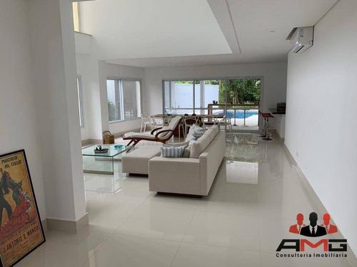 Casa Com 6 Dormitórios À Venda, 352 M² Por R$ 3.500.000,00 - Riviera - Módulo 26 - Bertioga/sp - Ca0541