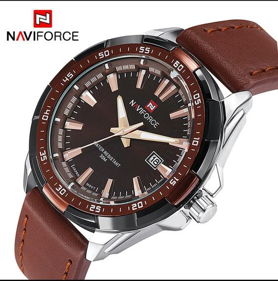 Relógio Masculino Importado Naviforce Luxo