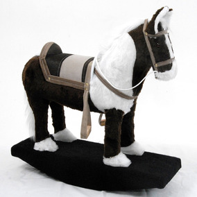 Cavalo Balanço Gangorra Madeira Brinquedo Presente De Natal