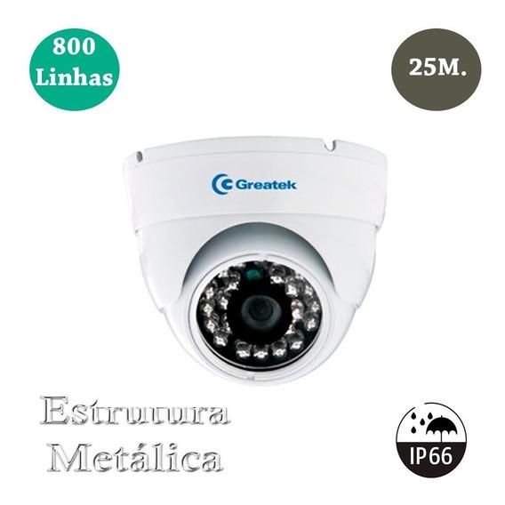 Câmera De Segurança Residencial Greatek 800 Linhas 20m