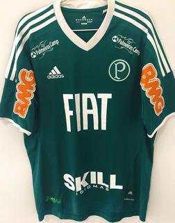 Camisa Do Palmeiras Usada Jogo Brasileiro 2011 Cicinho B+