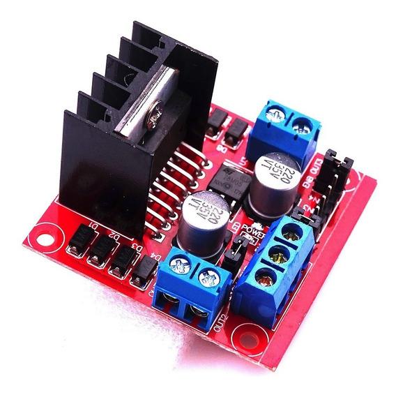 Ponte H L298 H-bridge Motor Driver Board 2a L298n - Arduino