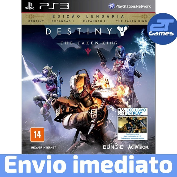 Destiny The Taken King Ps3 Psn Jogo Digital Pronta Entrega