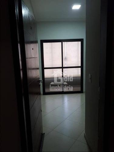 Apartamento Com 2 Dormitórios, 70 M² - Venda Por R$ 270.000,00 Ou Aluguel Por R$ 1.200,00/mês - Jardim Paulistano - Ribeirão Preto/sp - Ap3536