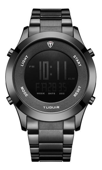 Relógio Masculino Tuguir Digital Tg103 - Preto