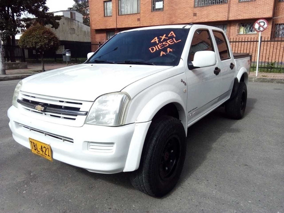 Chevrolet Luv Dmax 4x4 Diesel 3.0 2008 Doble Cabina Aire Aco