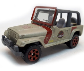 Carro Jurassic Park Jeep N°18 1993 Matchbox Original