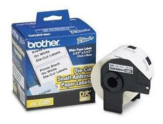Rollo De Etiqueta Brother Dk1209 Pre-cortada Dk1209 /v /vc