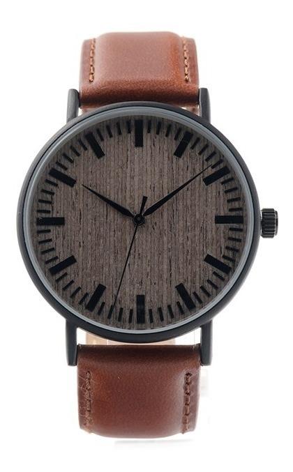 Relógio de Madeira e Aço Inox Mosyera - Bobo Bird - Bobo Bird