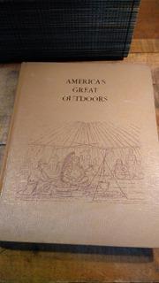 American Great Outdoors Libro De Campismo