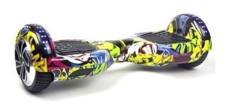 Hoverboard Skate Elétrico Roda 6.5 Bluetooth Led Agua Fogo