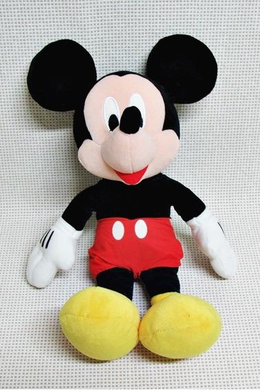 Mickey Pelucia Original Disney 37 Cm Bau10