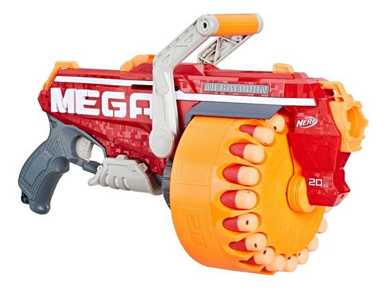 Pistola Hasbro E4217 Megalodon Nerf Nstrike Mega 20 Dardos