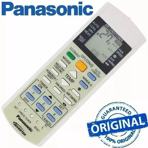 Controle Original Ar Condicionado Panasonic Cs-ps18pkv-7