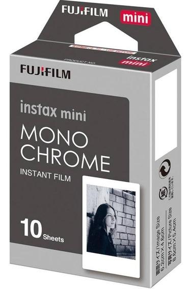 Filme Para Câmera Instantânea Fujifilm Instax Mini Monochr