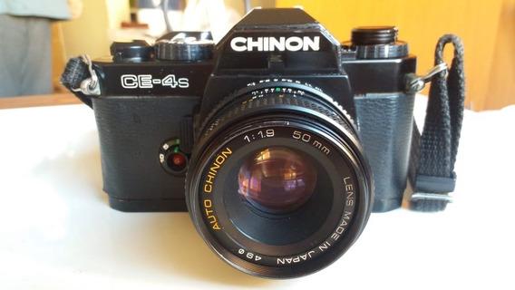 Câmera Fotográfica Analógica 35mm Chinon Ce-4s