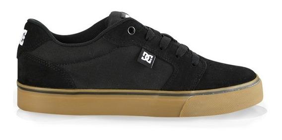 Tênis Dc Shoes Anvil 2 La Black Gum Original Frete Gratis