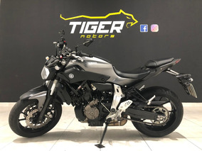 Yamaha Mt 07 Abs - 2017 - 2.000km - Manual+chave Reserva