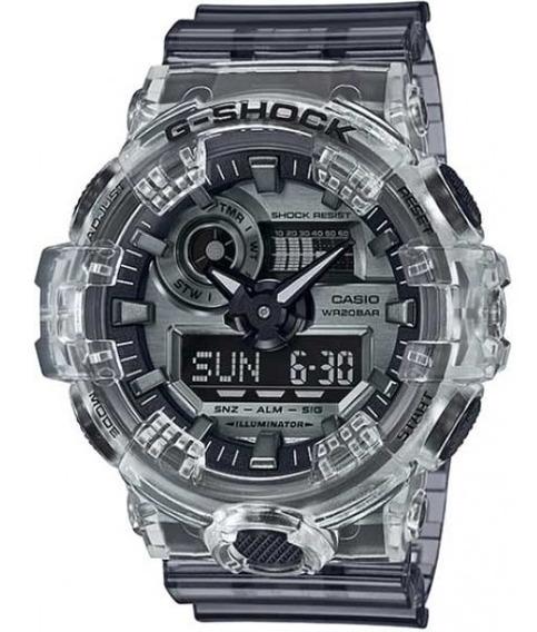 Relógio Casio G-shock Ga 700sk 1a Transparente Original