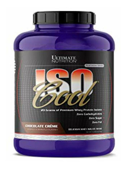 Whey Protein Isocool 2,27kg (5 Lbs) - Ultimate Nutrition