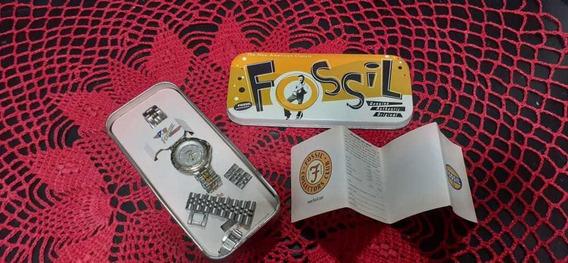 Relógio Fossil Feminino Antigo