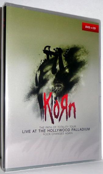 Dvd + Cd Korn - Live At The Hollywood Palladium