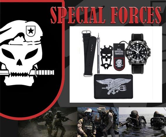 Relogio Militar Tático Special Forces Seals - Operções Espec