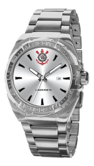Relógio Technos Masculino Corinthians Cor2315ab/3p Oficial
