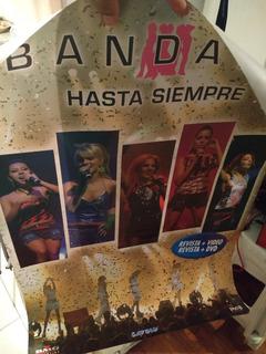 Bandana - Hasta Siempre (poster Del Dvd / Vhs)
