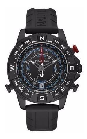 Relógio Nautica Nad21001g Masculino Bússola Temperatura