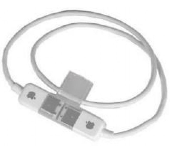 Cabo Apple Firewire 6-pin Para 6-pin (original/novo) 0,50cm