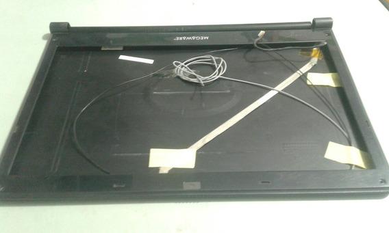 Carcaça Tampa Da Tela + Moldura Notebook Megaware Meganote