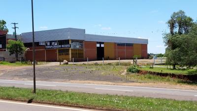 Pavilhão Com Terreno Na Rst 153, Saída Para Poa.