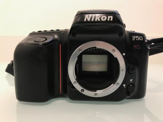 Câmera Fotográfica Analógica Slr Original Nikon F50