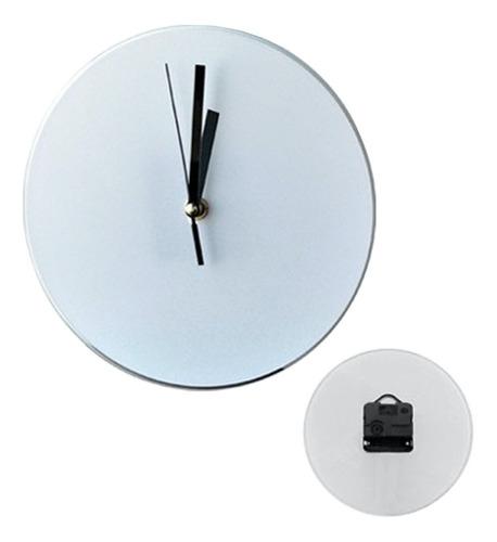 Reloj De Pared 19 Cms Para Sublimación Vidrio Para Sublimar