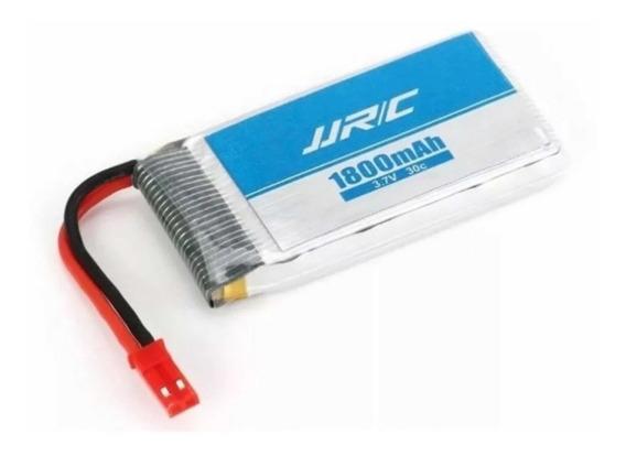 Bateria Drone Jjrc H68 3.7v 1800mah Lipo 20 Minutos