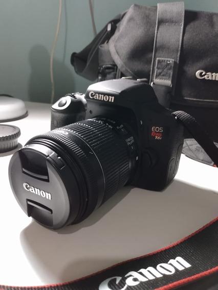 Camera Canon Eos Rebel T6i Completo + 50mm