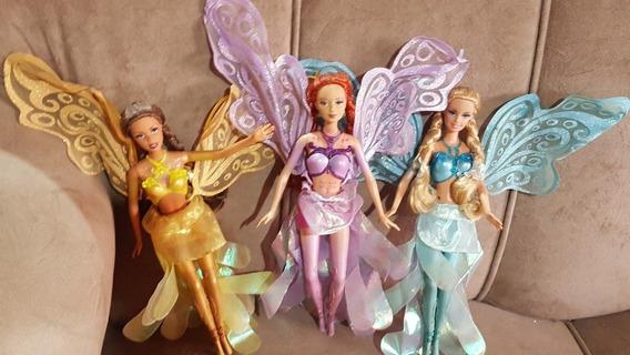 Boneca Fada Barbie Coleçâo Dourada