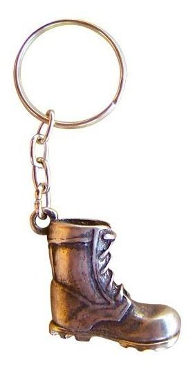 Chaveiro De Metal Coturno Bronze