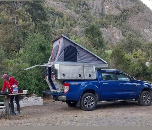 Camper Alutrail Para Camionetas Doble Y Simple Cabina
