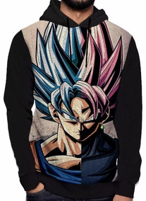 Moletom Dragon Ball Z Unissex - Goku Blusa Casaco Anime Dbz