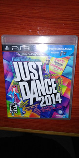 Just Dance 2014 Ps3 Playstation Videojuego Disco Fìsico