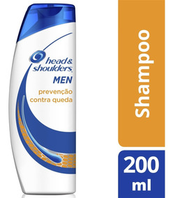 Shampoo Head & Shoulders Anticaspa Contra Queda Masc. 200 Ml