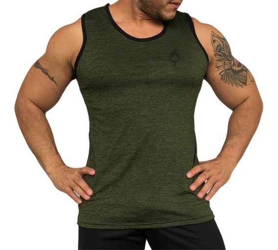Camiseta, Playera De Gym Training Sin Mangas Hombre Fenixfit