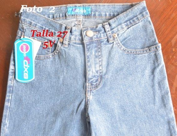 Pantalon Dama Jean Importado Liquidacion/remate 5 Norteños