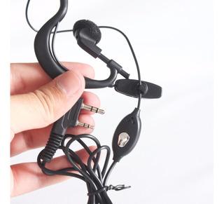 Fone Microfone Rádio Comunicador Walk Talk Segurança