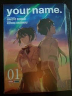 Panini Manga Your Name Kimi No Nawa 3 Tomos Completa Latino
